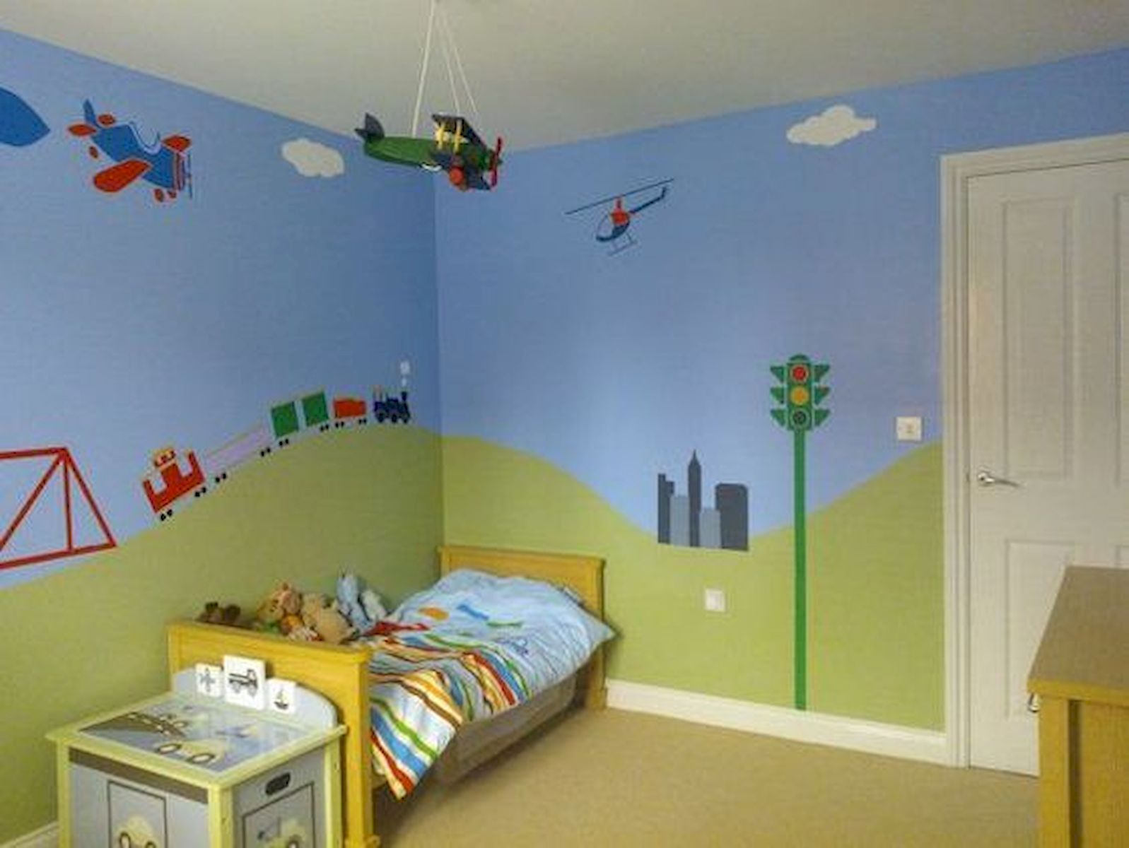 60 Cute DIY Bedroom Design and Decor Ideas for Kids (18)