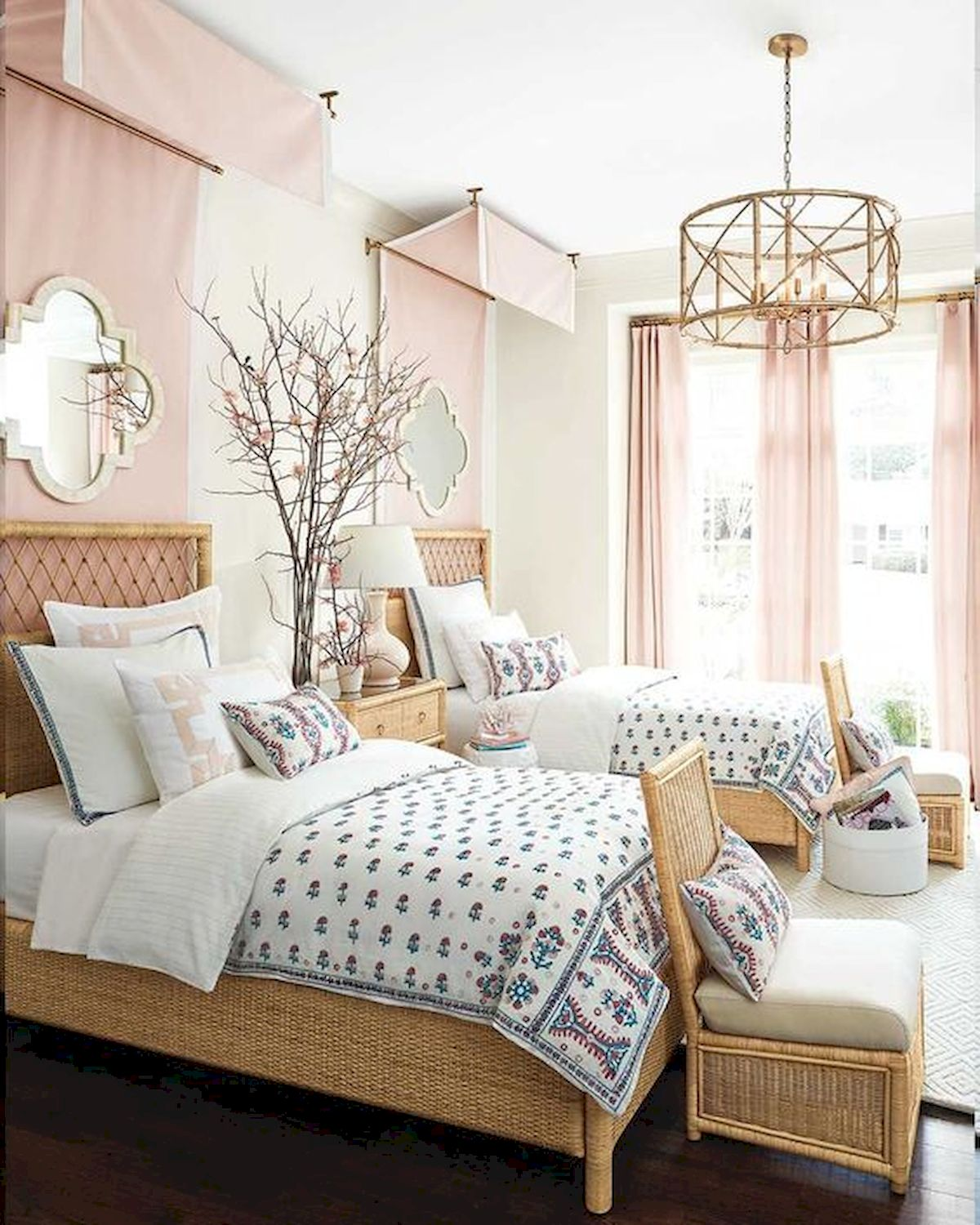 60 Cute DIY Bedroom Design and Decor Ideas for Kids (27)