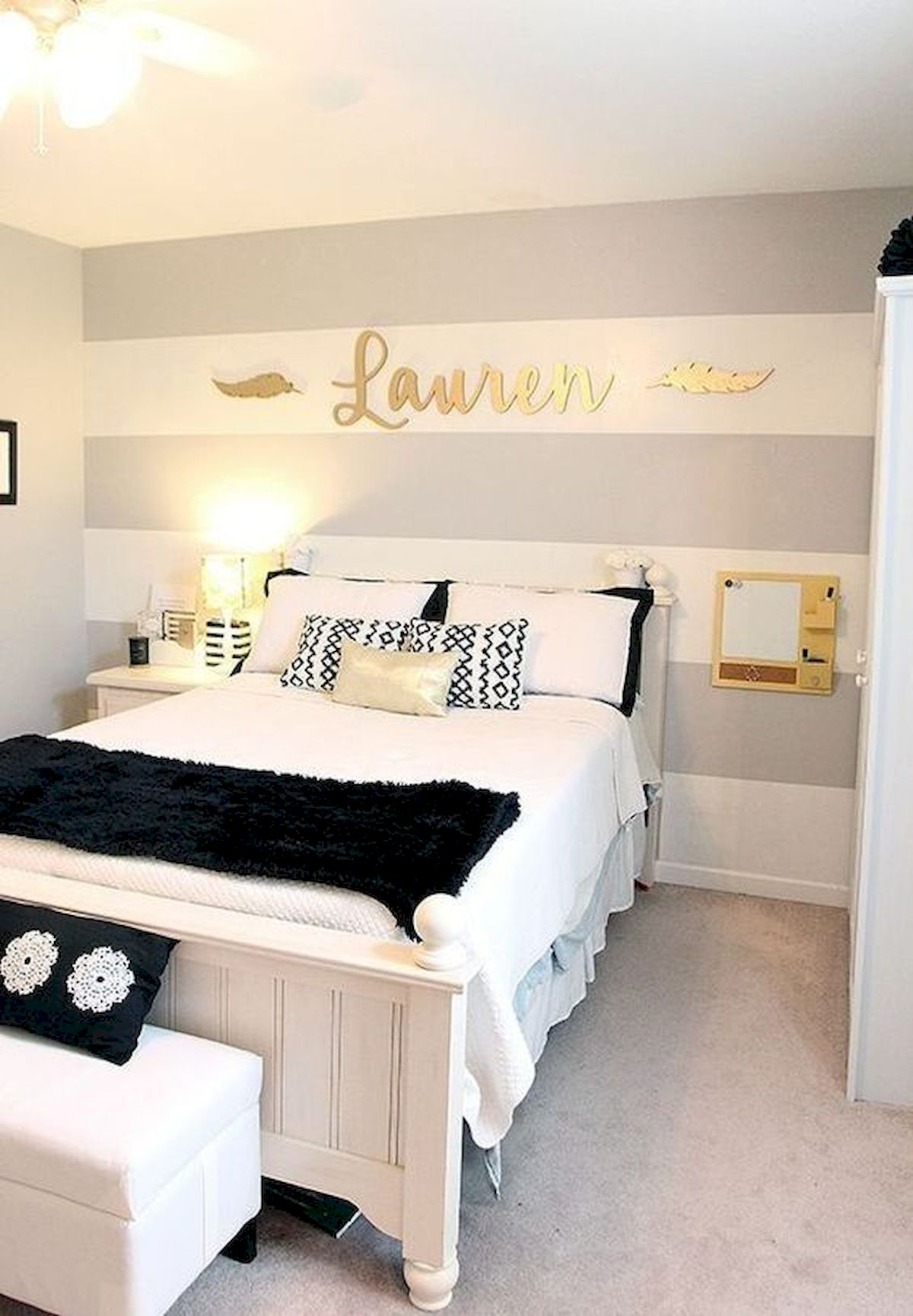 60 Cute DIY Bedroom Design and Decor Ideas for Kids (29)