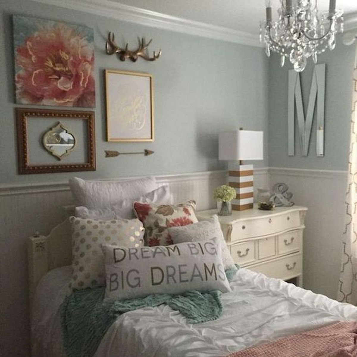 60 Cute DIY Bedroom Design and Decor Ideas for Kids (49)