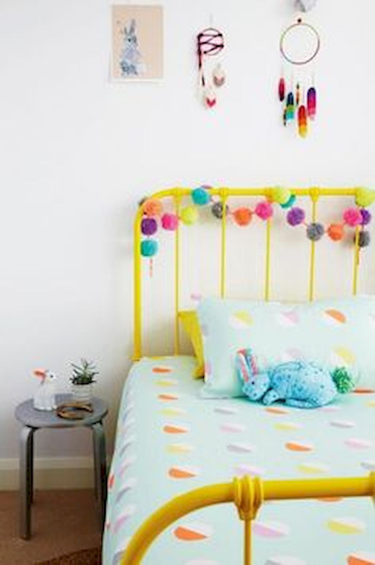 60 Cute DIY Bedroom Design and Decor Ideas for Kids (51)