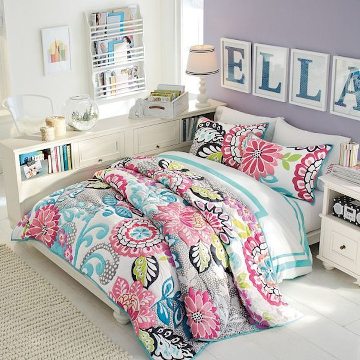 60 Cute DIY Bedroom Design and Decor Ideas for Kids (55)
