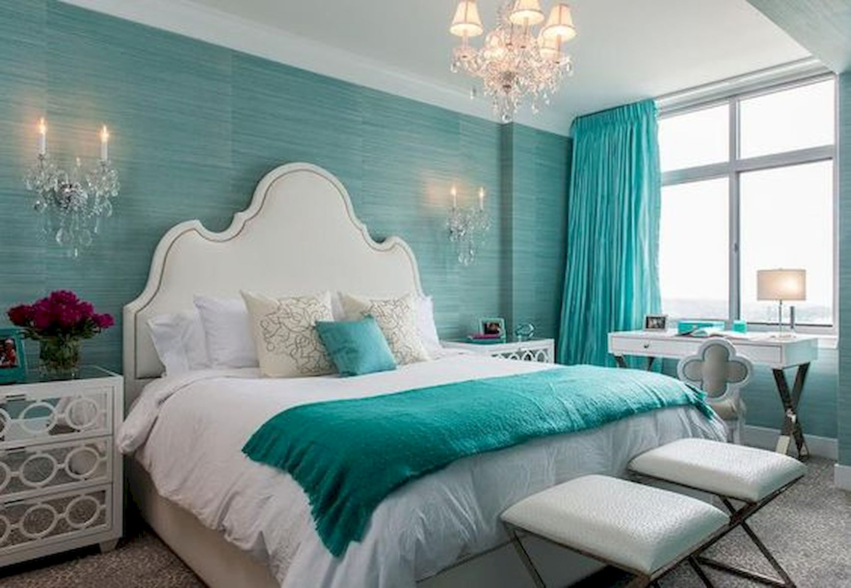 70 Beautiful DIY Colorful Bedroom Design Ideas and Remodel (11)