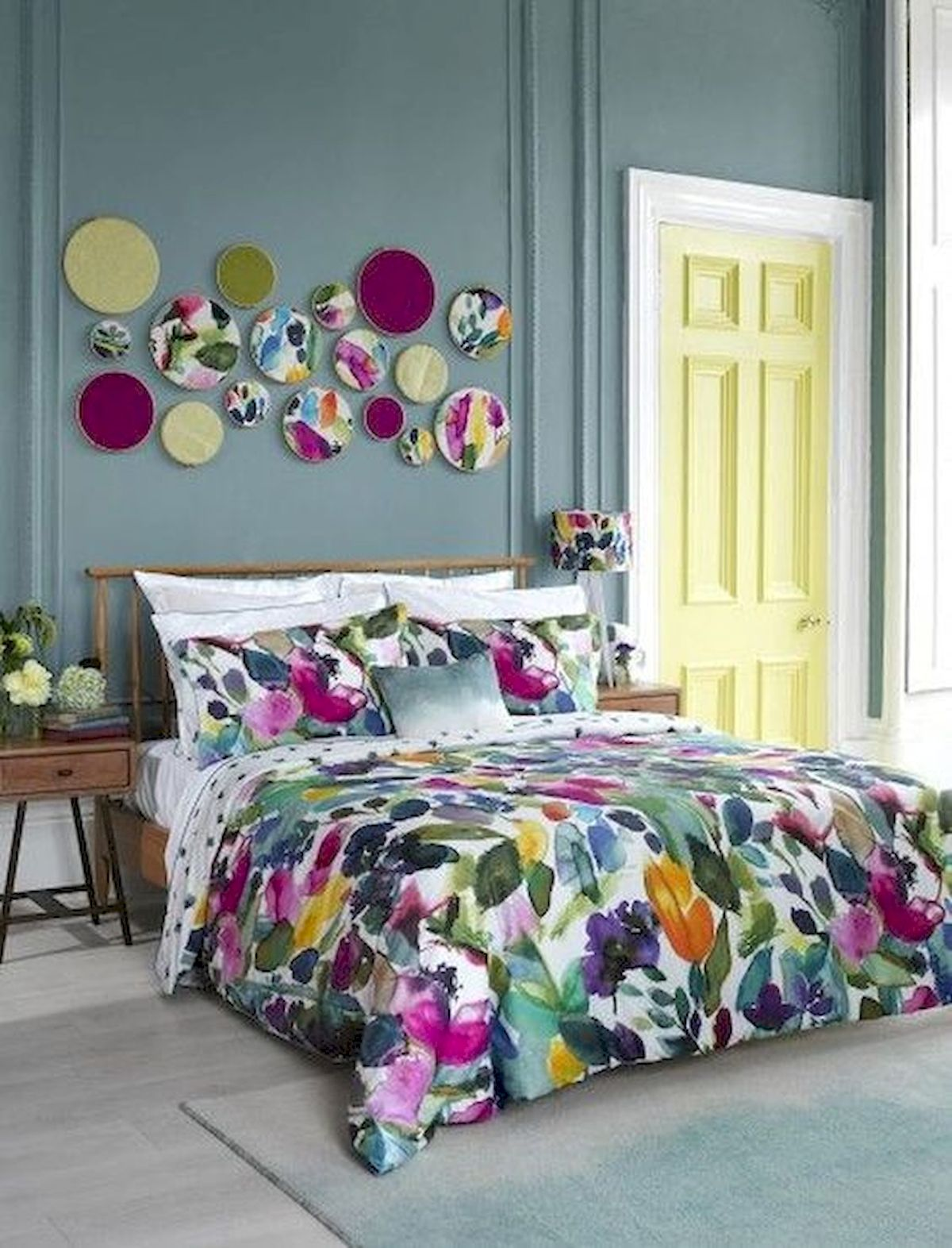 70 Beautiful DIY Colorful Bedroom Design Ideas and Remodel (35)