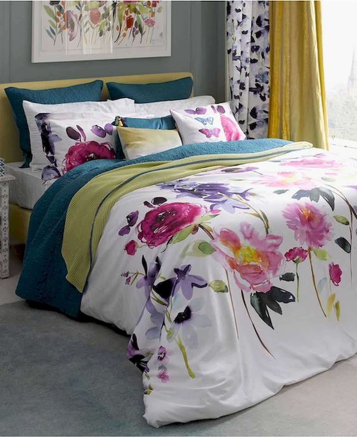 70 Beautiful DIY Colorful Bedroom Design Ideas and Remodel (37)