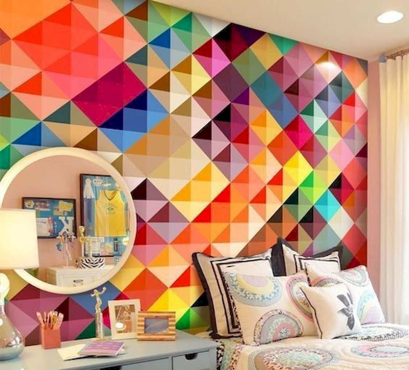70 Beautiful DIY Colorful Bedroom Design Ideas and Remodel (42)
