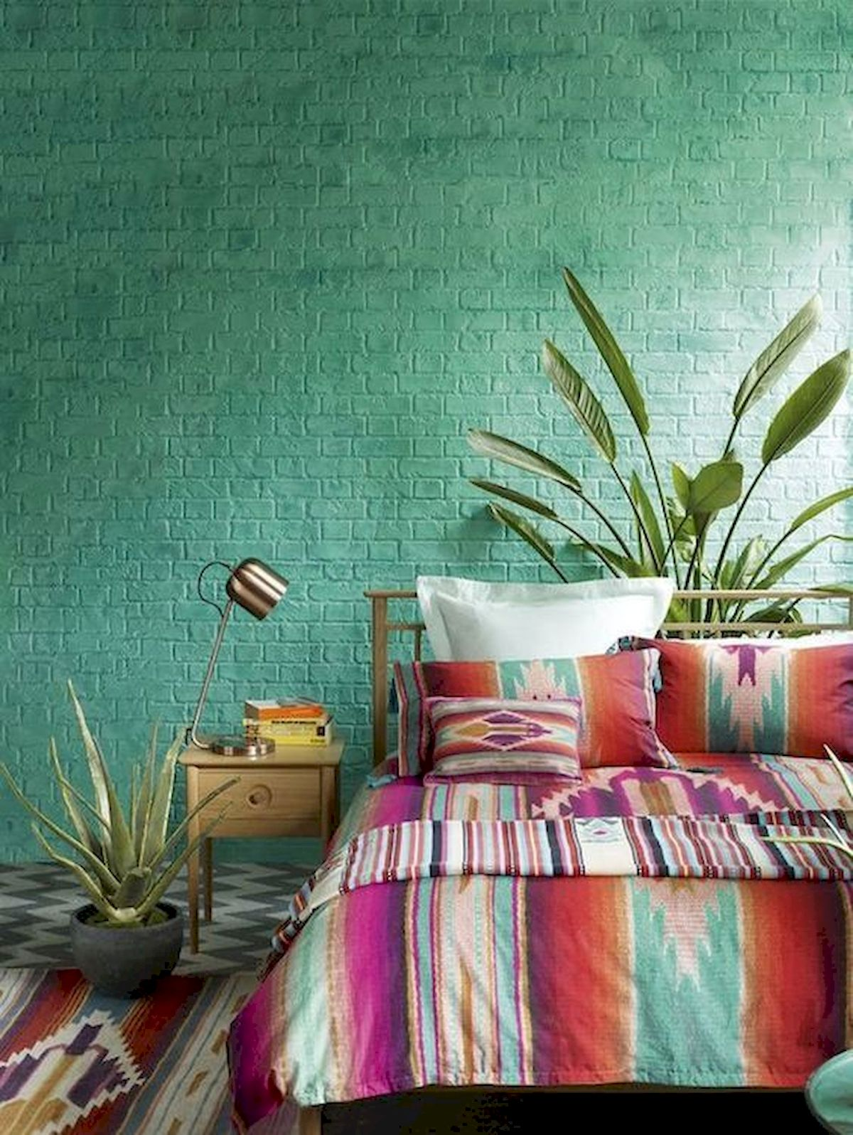 70 Beautiful DIY Colorful Bedroom Design Ideas and Remodel (44)