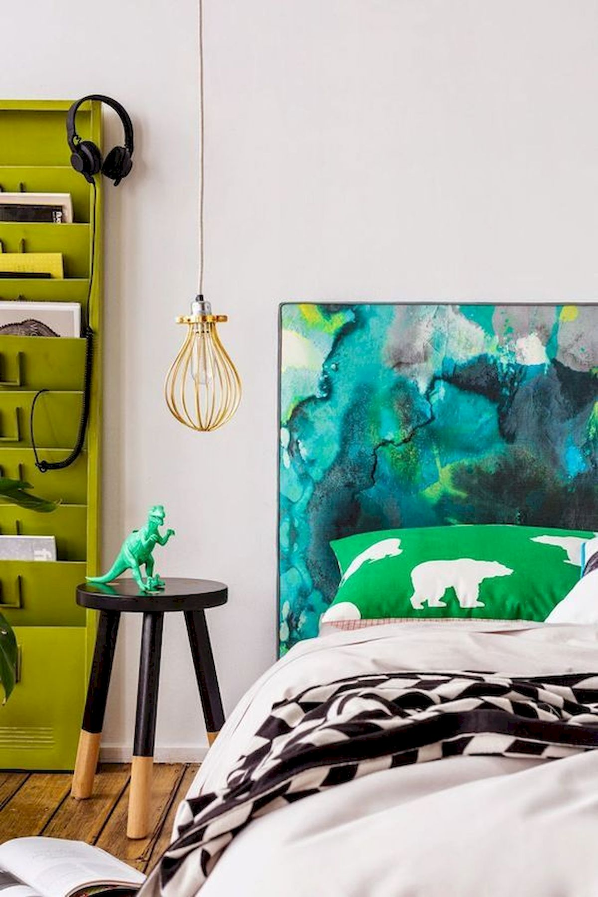 70 Beautiful DIY Colorful Bedroom Design Ideas and Remodel (53)