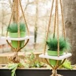 50 Awesome DIY Hanging Plants Ideas For Modern Backyard Garden (42)