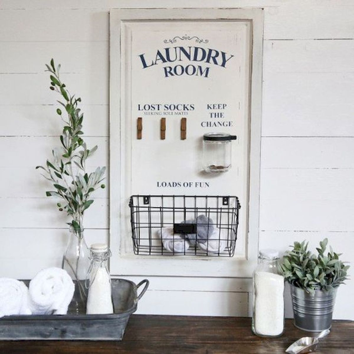 55 Inspiring DIY Farmhouse Decor Ideas On A Budget (27)