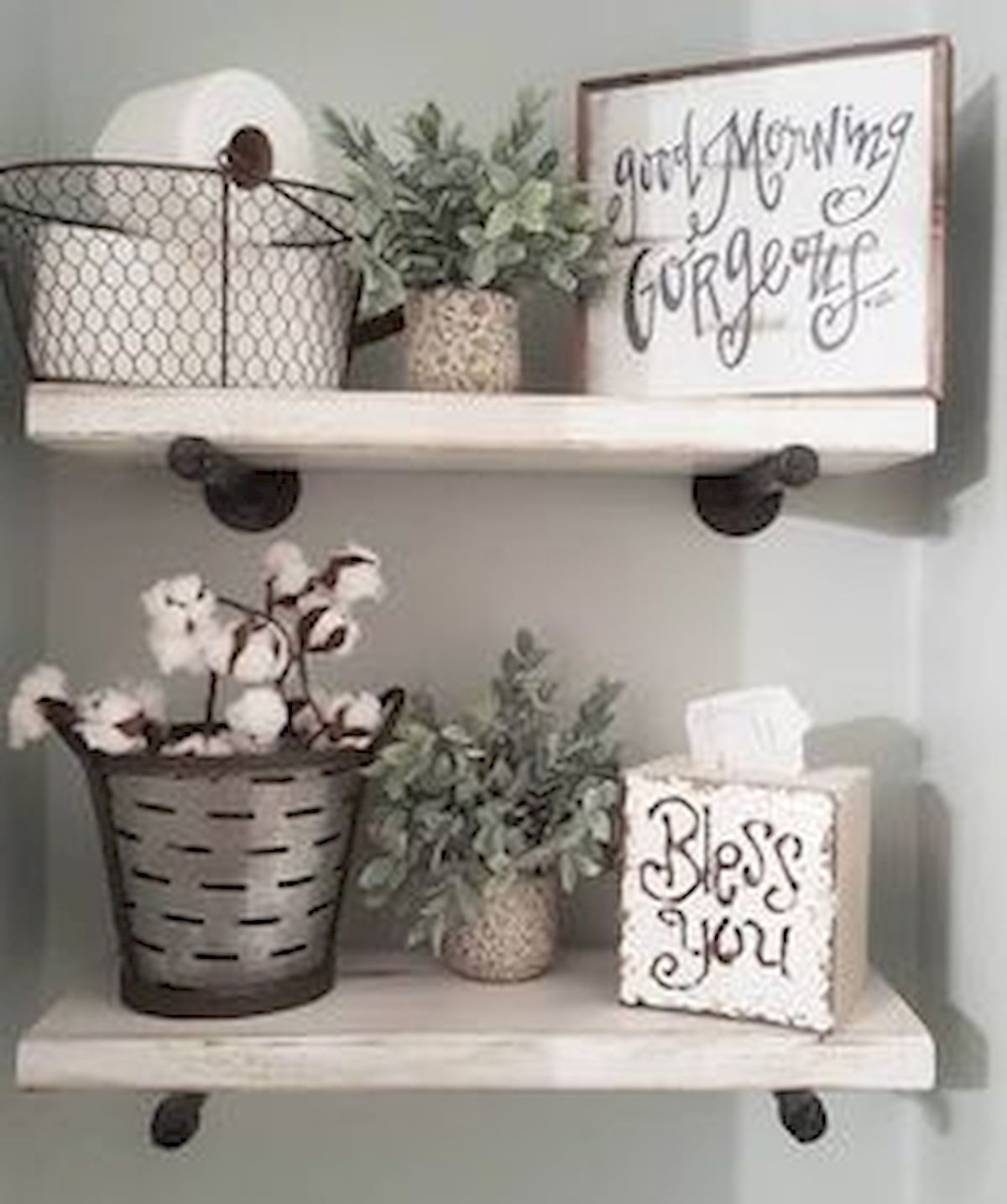 55 Inspiring DIY Farmhouse Decor Ideas On A Budget (32)
