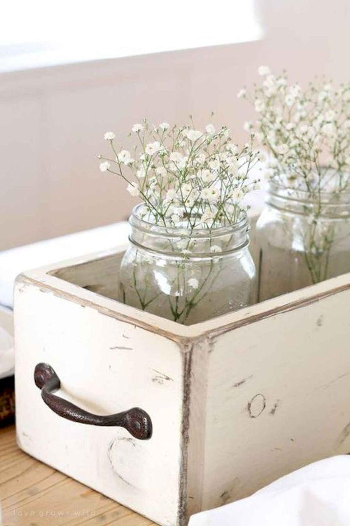 55 Inspiring DIY Farmhouse Decor Ideas On A Budget (33)