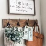 55 Inspiring DIY Farmhouse Decor Ideas On A Budget (55)
