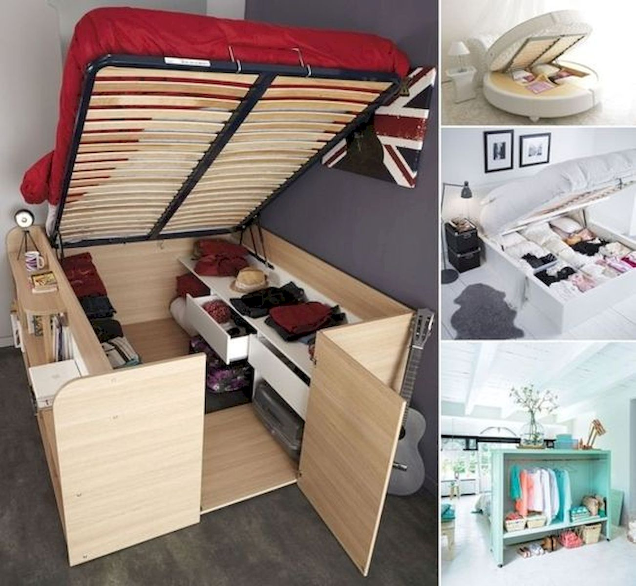 60 Easy and Brilliant DIY Storage Ideas For Small Bedroom (51)