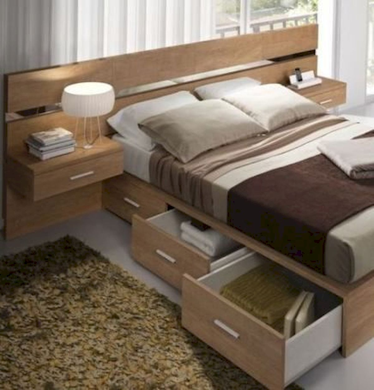 60 Easy and Brilliant DIY Storage Ideas For Small Bedroom (57)