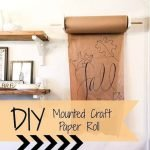 40 Easy DIY Mounted Craft Paper Roll (1)