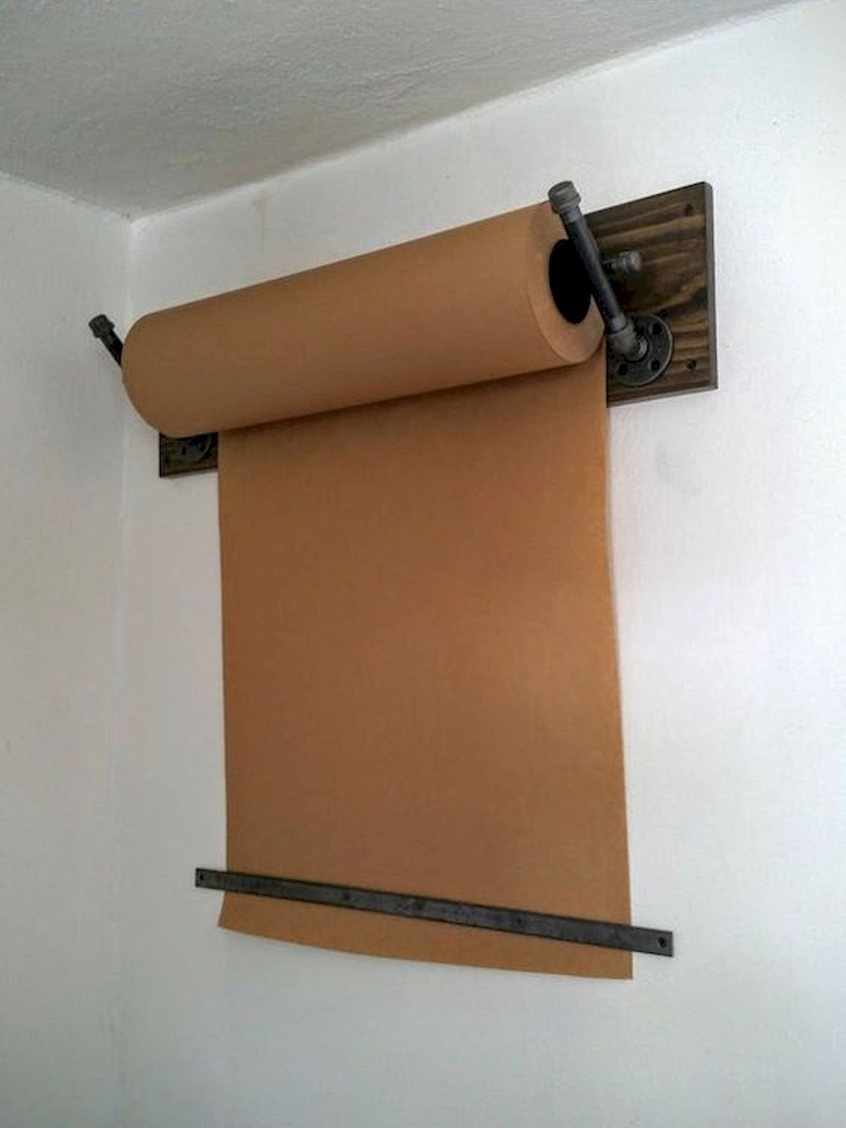 40 Easy DIY Mounted Craft Paper Roll (23)