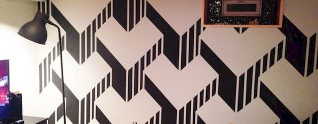 44 Easy but Awesome DIY Wall Painting Ideas to Decorate Your Home (1)