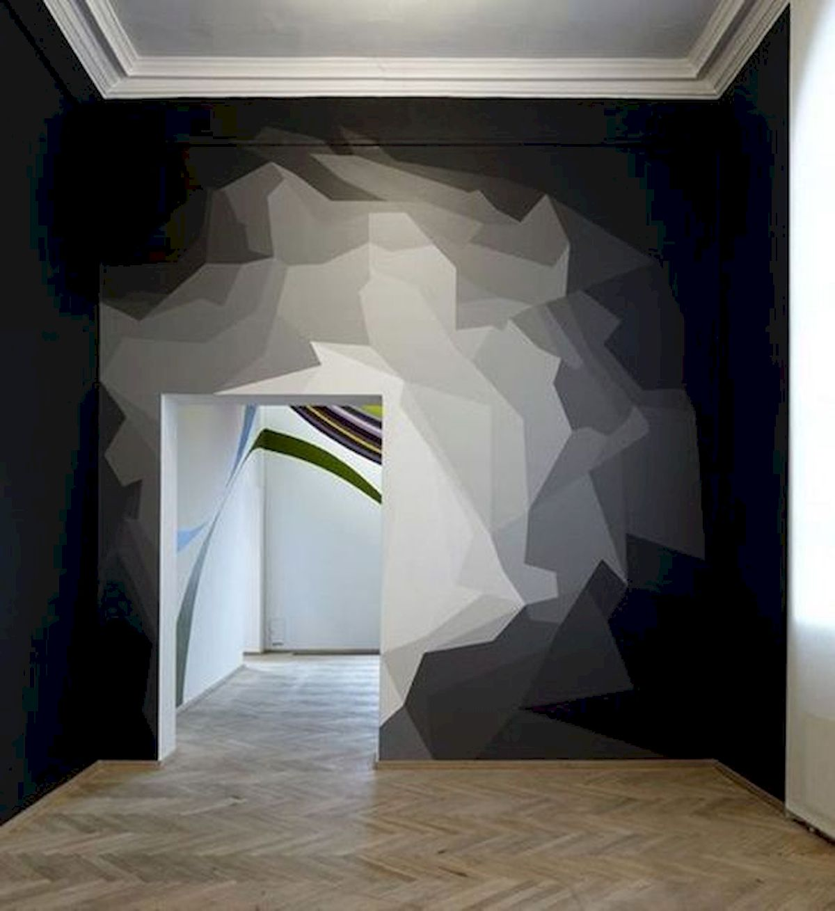 44 Easy but Awesome DIY Wall Painting Ideas to Decorate Your Home (15)