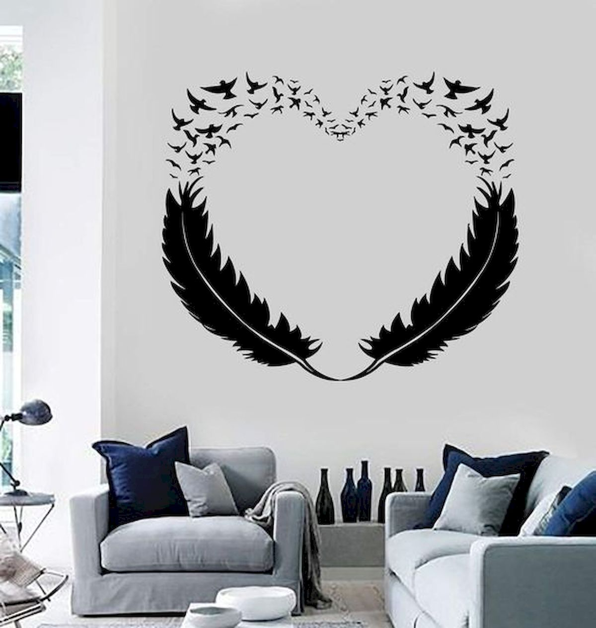 44 Easy but Awesome DIY Wall Painting Ideas to Decorate Your Home (34)