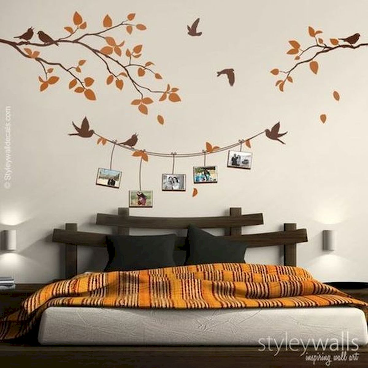 44 Easy but Awesome DIY Wall Painting Ideas to Decorate Your Home (44)