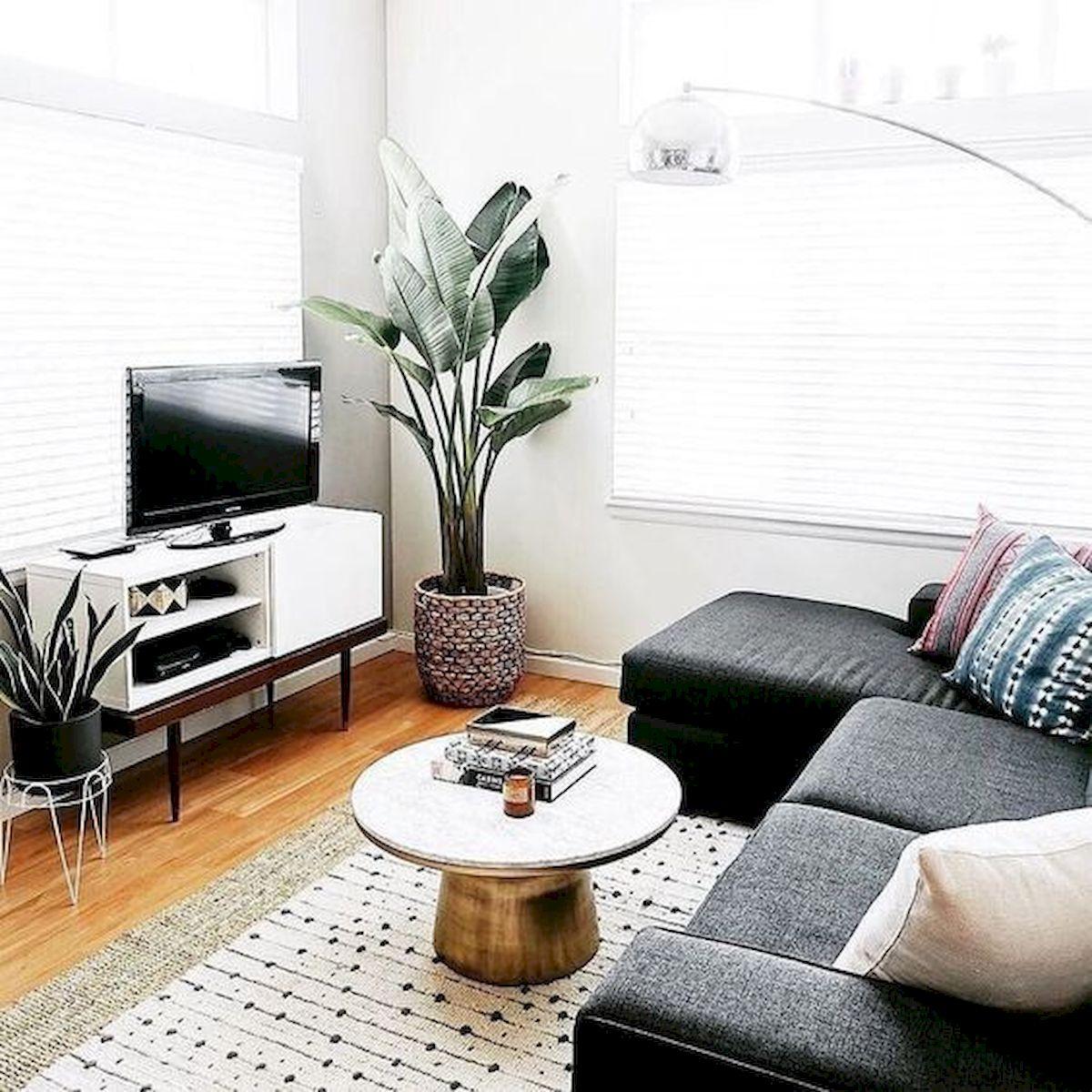 45 Brilliant DIY Living Room Design and Decor Ideas for Small Apartment (1)