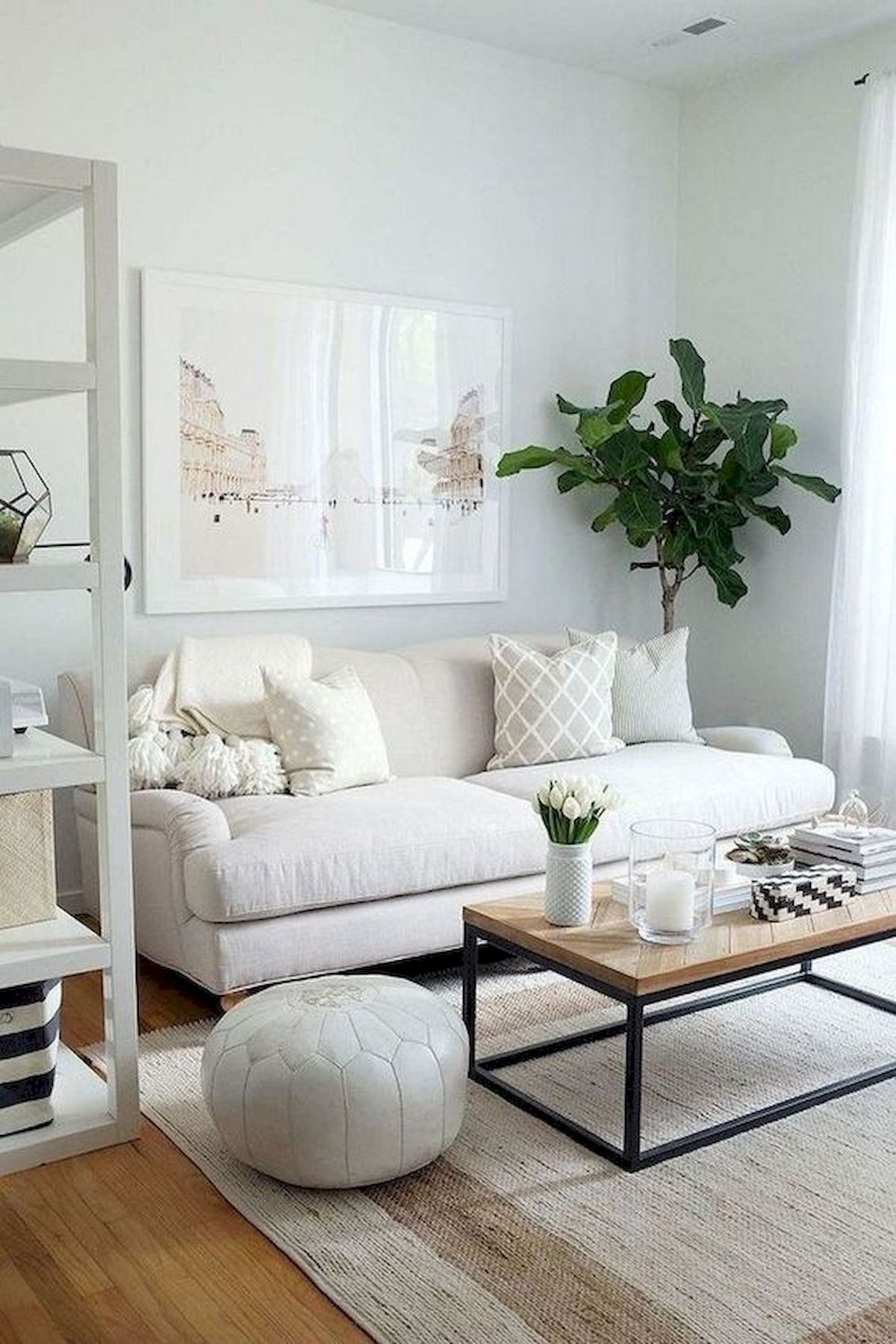 45 Brilliant DIY Living Room Design and Decor Ideas for Small Apartment (24)