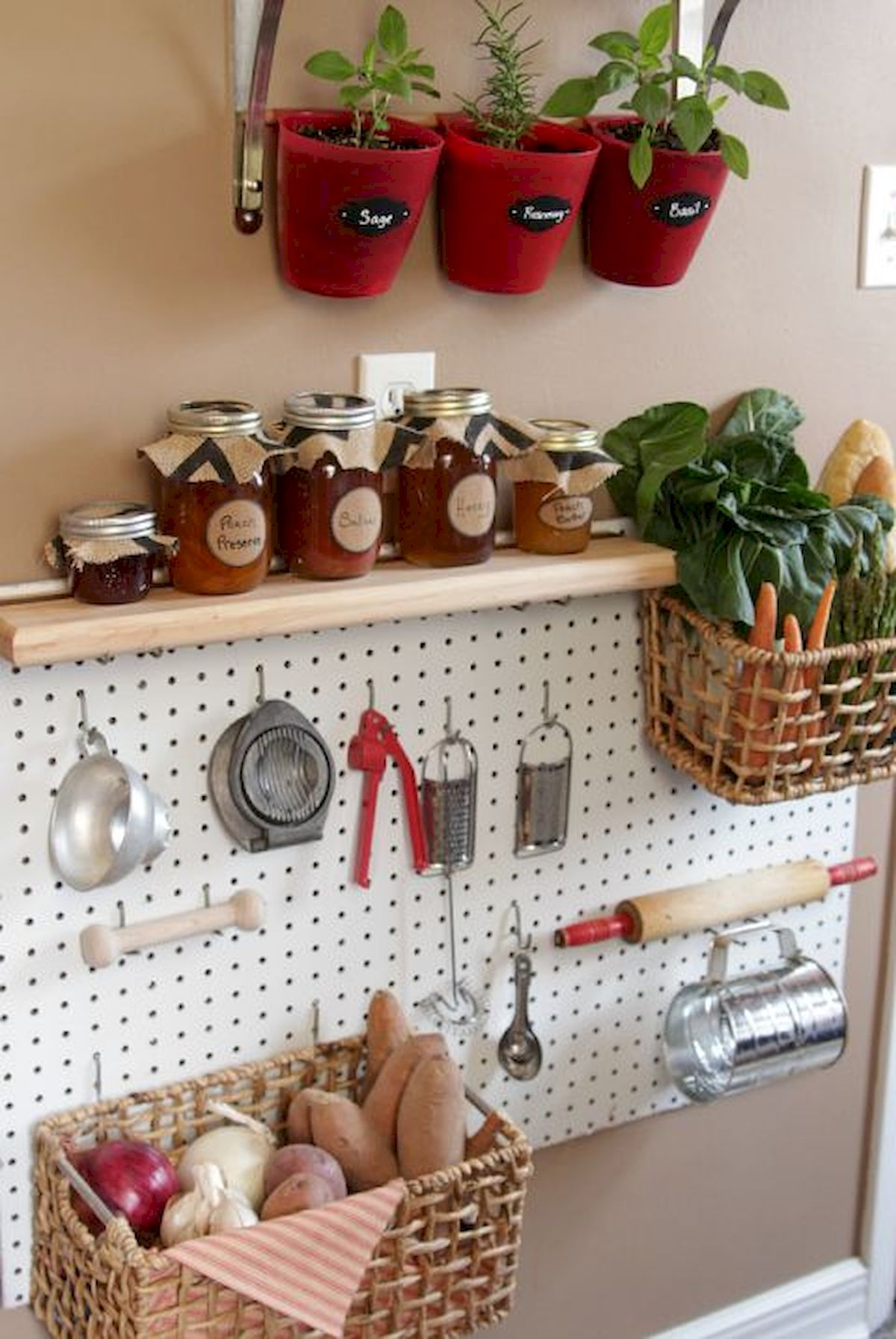46 Creative DIY Small Kitchen Storage Ideas (32)
