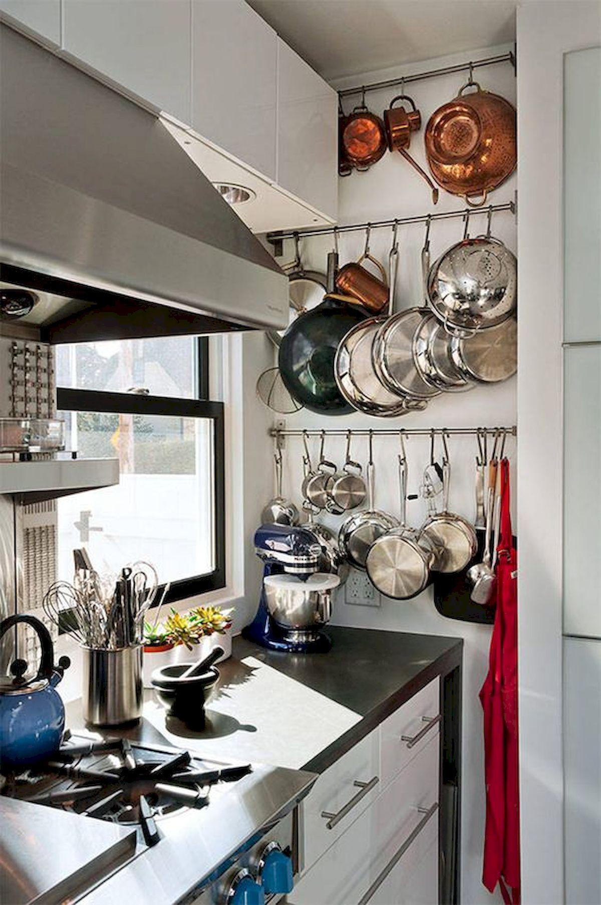 46 Creative DIY Small Kitchen Storage Ideas (39)