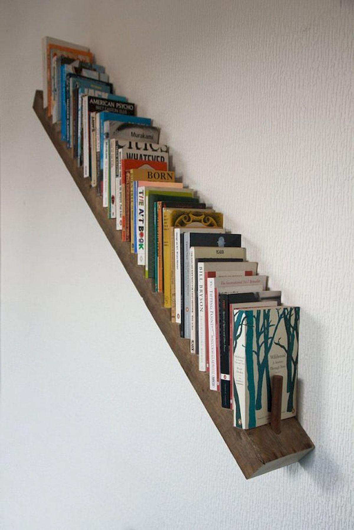 50 Easy DIY Bookshelf Design Ideas (17)