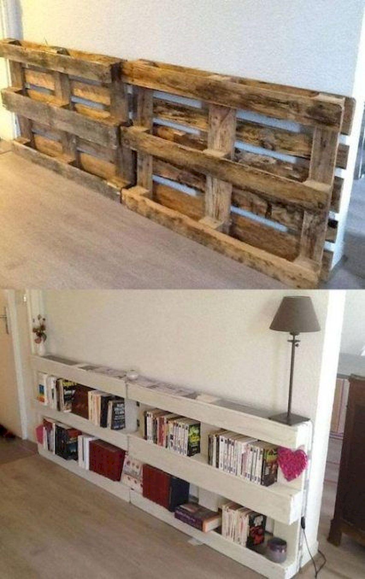50 Easy DIY Bookshelf Design Ideas (2)