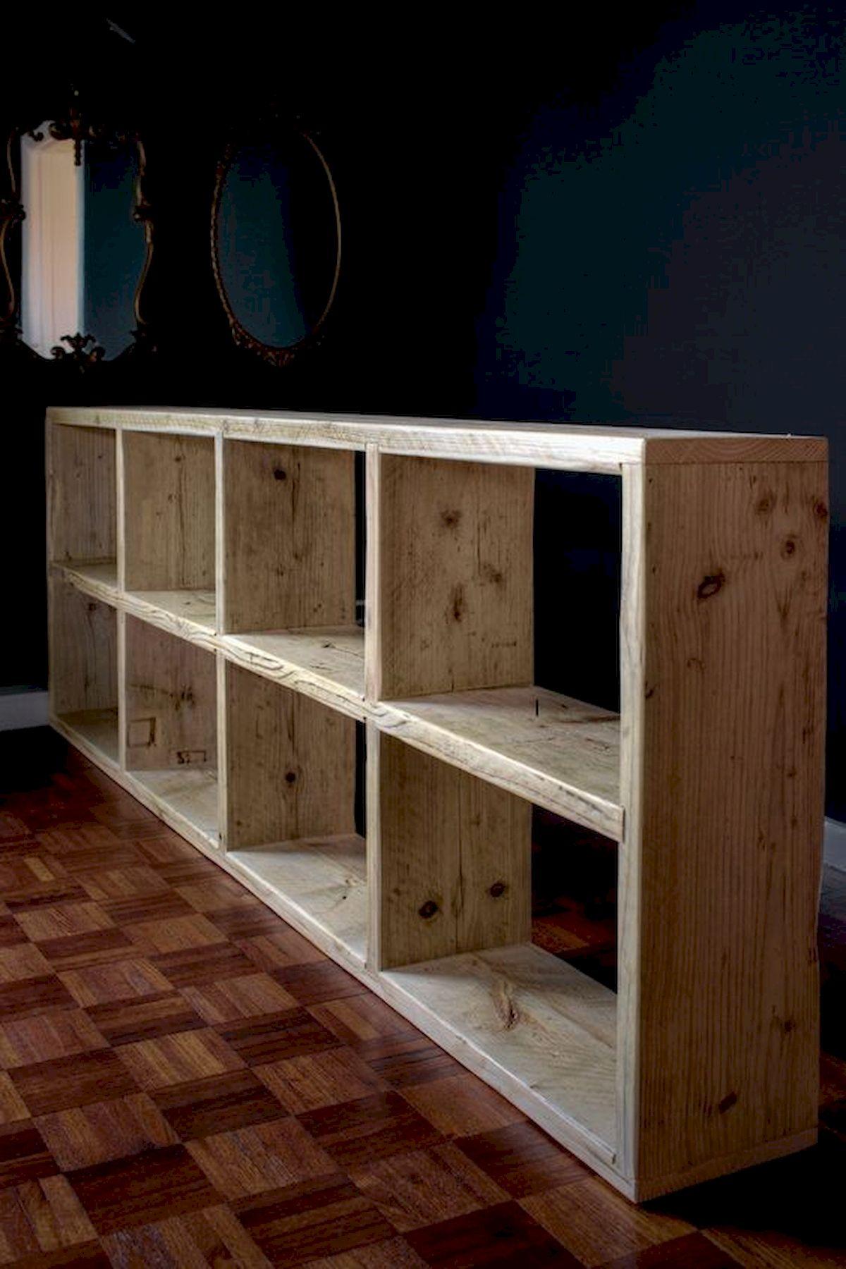 50 Easy DIY Bookshelf Design Ideas (21)