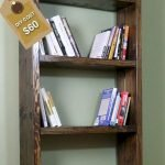 50 Easy DIY Bookshelf Design Ideas (28)