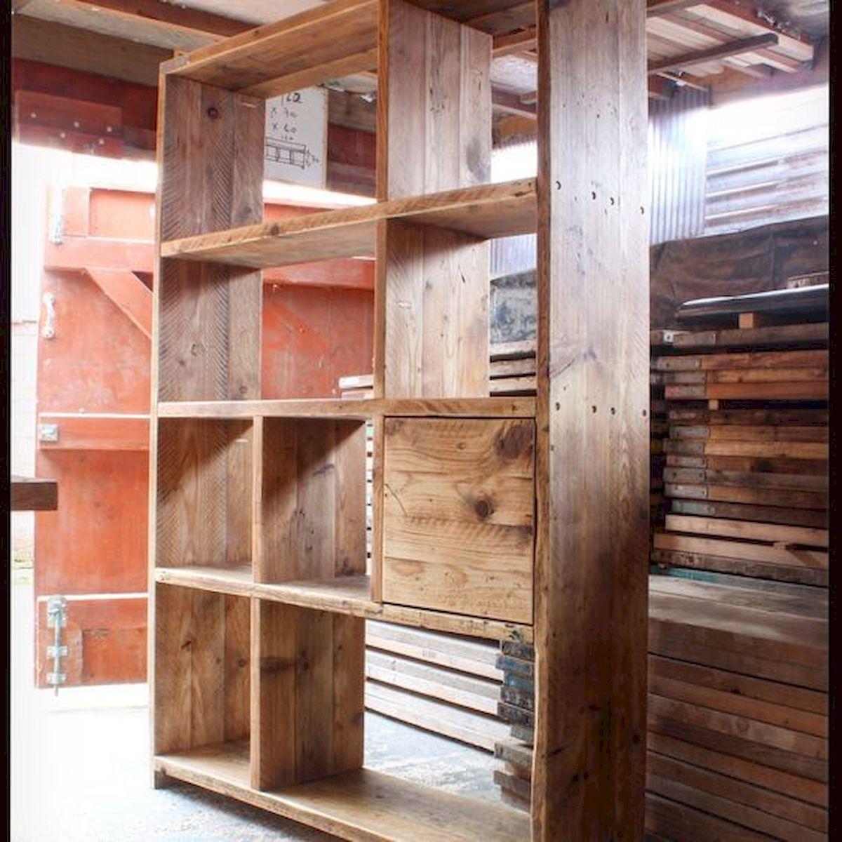 50 Easy DIY Bookshelf Design Ideas (36)
