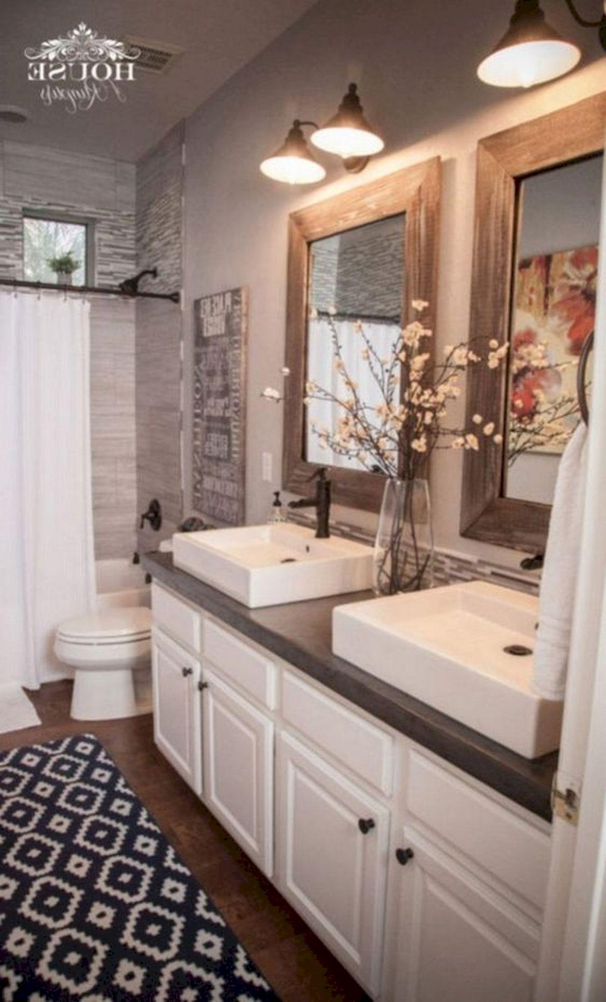 50 Fantastic DIY Modern Farmhouse Bathroom Remodel Ideas (2)