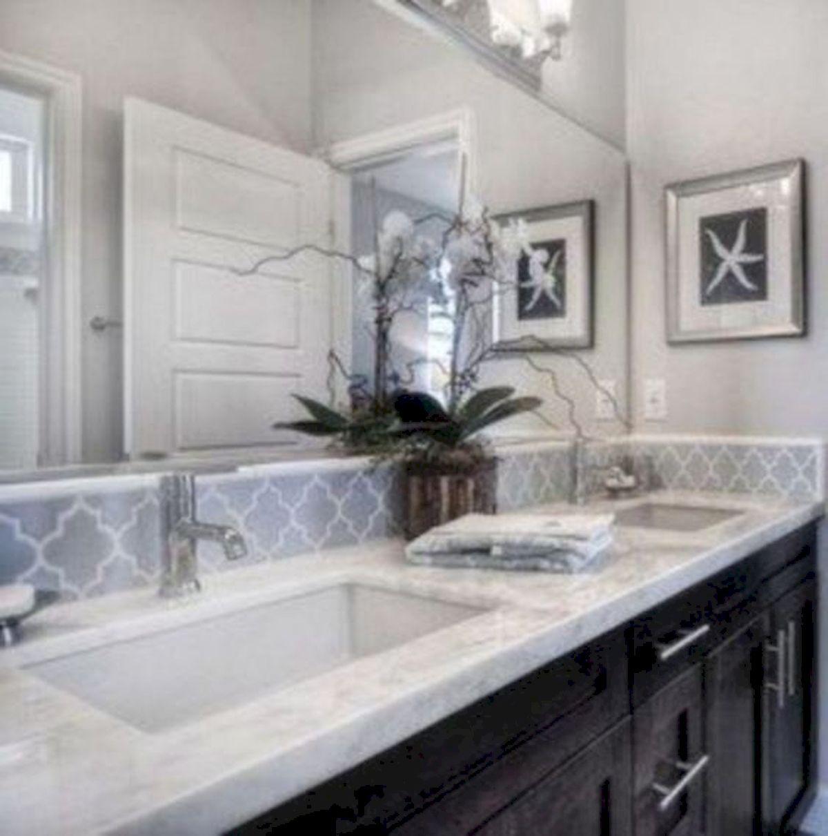 50 Fantastic DIY Modern Farmhouse Bathroom Remodel Ideas (21)
