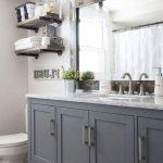 50 Fantastic DIY Modern Farmhouse Bathroom Remodel Ideas (26)
