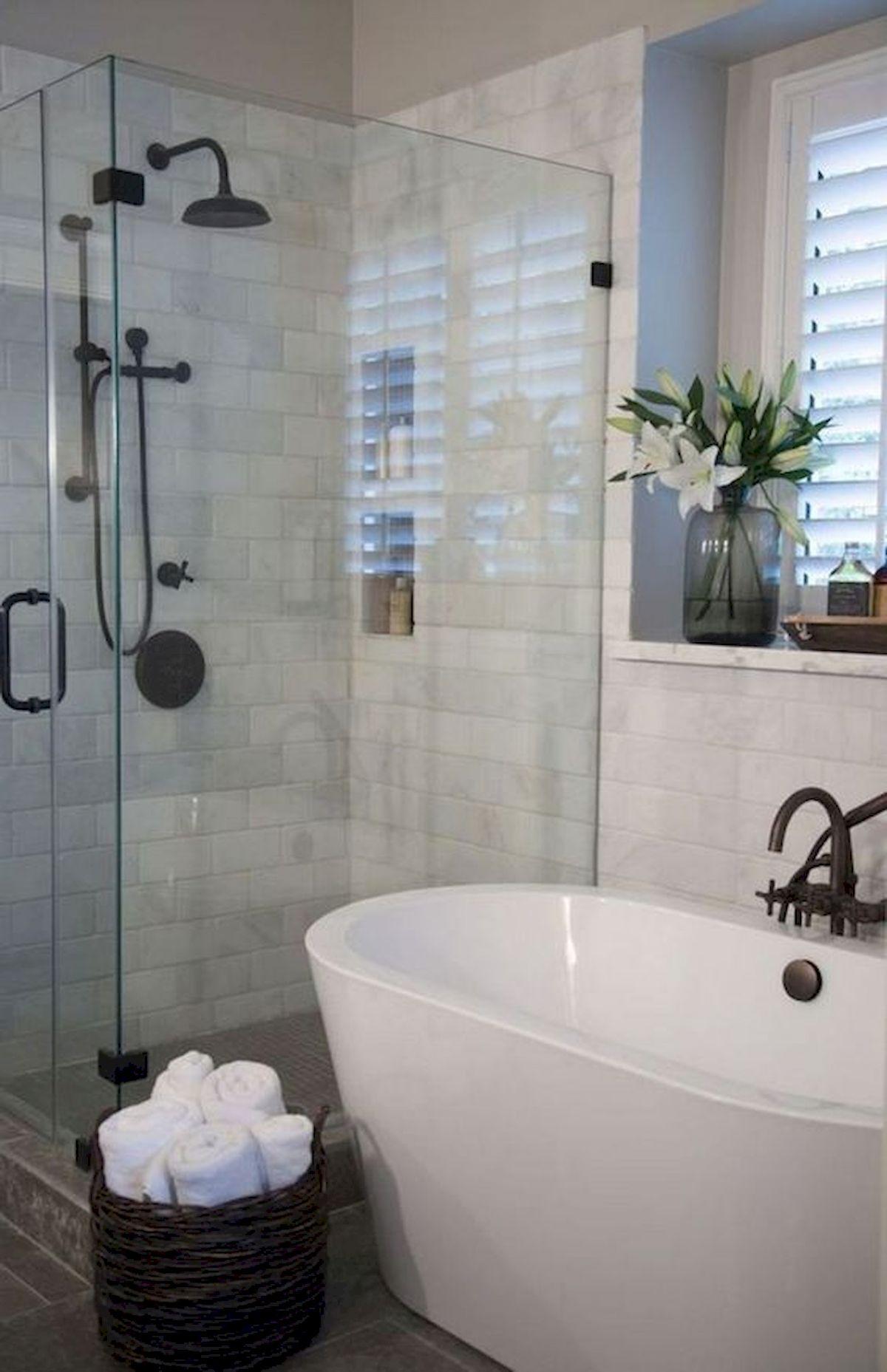 50 Fantastic DIY Modern Farmhouse Bathroom Remodel Ideas (3)