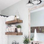 50 Fantastic DIY Modern Farmhouse Bathroom Remodel Ideas (31)