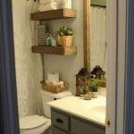 50 Fantastic DIY Modern Farmhouse Bathroom Remodel Ideas (38)