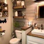 50 Fantastic DIY Modern Farmhouse Bathroom Remodel Ideas (43)