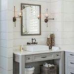 50 Fantastic DIY Modern Farmhouse Bathroom Remodel Ideas (44)