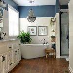 50 Fantastic DIY Modern Farmhouse Bathroom Remodel Ideas (50)