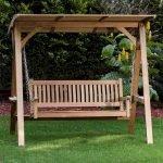 30 Creative DIY Wooden Pallet Swing Chair Ideas (15)