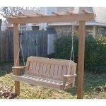 30 Creative DIY Wooden Pallet Swing Chair Ideas (16)