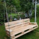30 Creative DIY Wooden Pallet Swing Chair Ideas (18)