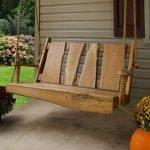 30 Creative DIY Wooden Pallet Swing Chair Ideas (20)