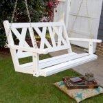 30 Creative DIY Wooden Pallet Swing Chair Ideas (29)