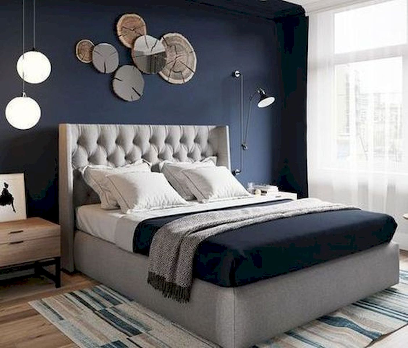 36 Creative DIY Wall Bedroom Decor Ideas That Unique and Beautiful (14)
