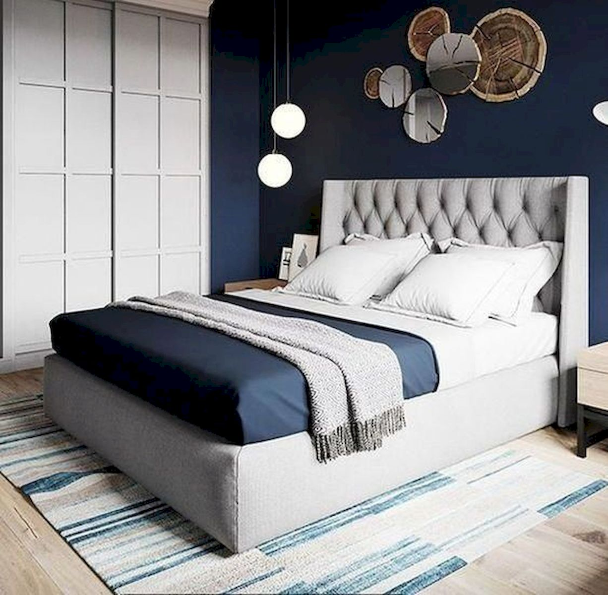 36 Creative DIY Wall Bedroom Decor Ideas That Unique and Beautiful (6)